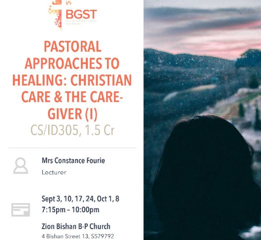 Pastoral Approaches to Healing POSTPONED to October 15